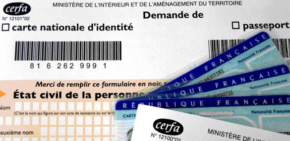 renouvellement de la carte d identité Demande de création ou de renouvellement de carte d'identité et de